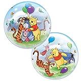 Qualatex 84.038,4cm Single Winnie the Pooh & FRIENDS 2,5cm Bubble Ballon, 22