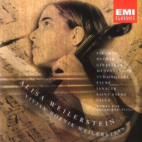 Debut - Alice Weilerstein (Werke für Violoncello und Klavier)