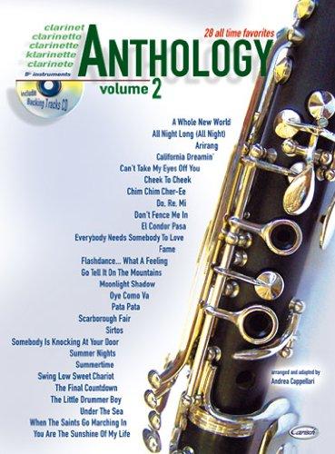 Preisvergleich Produktbild Carisch Verlag Clarinet Anthology Vol. 2 - 28 all time favorites + CD