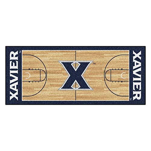 FANMATS NCAA Xavier University Musketiere Nylon Face Basketball Court Runner Xavier University Basketball