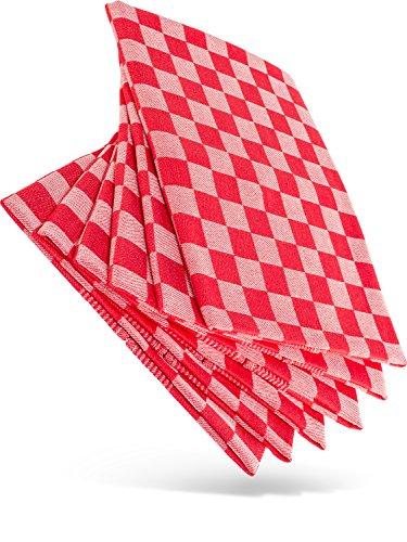 WoldoClean Kitchen Towels 100% Cotton Towel Cloth Drying Dish Tea Heavy Duty 50cm x 70cm