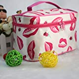 Liroyal Cosmetic Bag Makeup Pouch Case Toiletry Bag Make-Up Bag