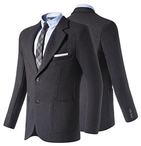 Hanayome - Giacca da abito - Parka - Classico  - Maniche lunghe  - 100 DEN -  donna Black XL