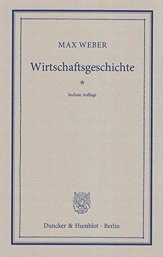 Wirtschaftsgeschichte.: Abriß der universalen Sozial- und Wirtschaftsgeschichte. Aus den nachgelassenen Vorlesungen hrsg. von S. Hellmann und M. Palyi.