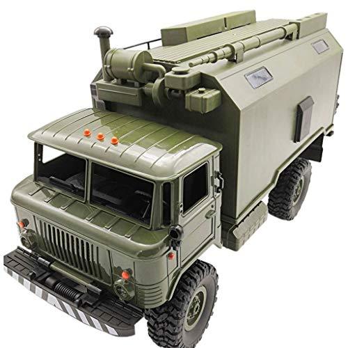 DingLong Neu WPL B24ZH 1:16 2.4G 4WD RC Auto Military Truck Off-Road Rock Crawler RTR Grün 30 min - 1 10 Crawler Rtr Rc Rock