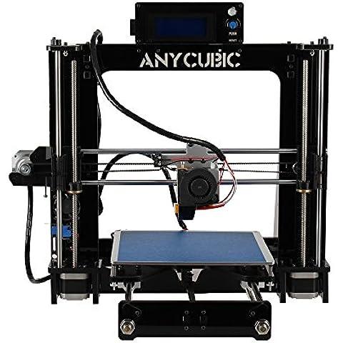 Impresora 3D Acrílico de Escritorio Prusa I3 CNC Kit de Autoensamblaje con 1,75 PLA Filamento 1kg
