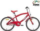 Zonix Jungen Fahrrad Cool Rot 20 Zoll