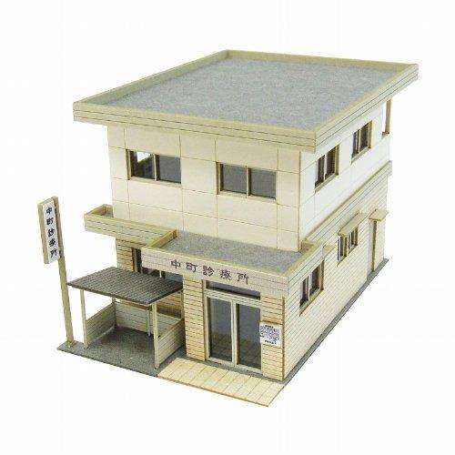 diorama-series-clinic-classics-1-150-paper-craft-japan-import