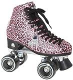 Moxi Rollschuhe Ivy Rollschuhe, damen, Pink Cheetah