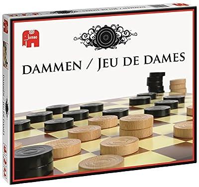 Jumbo - 335161 - Jeu De Dames - Jeu De Société
