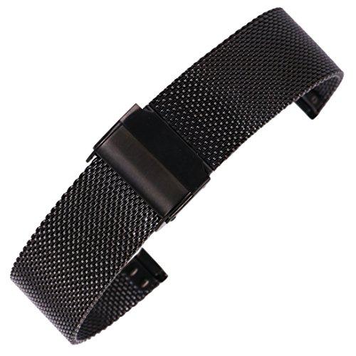 20 millimetri maglia di acciaio inossidabile cinturino sostituzione cinghia...