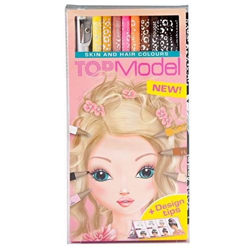 topmodel-006304-depesche-set-of-12-skin-and-hair-colouring-pencils