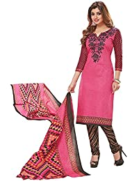 baalar Women's Dress Material(1509_Maroon_Free Size)