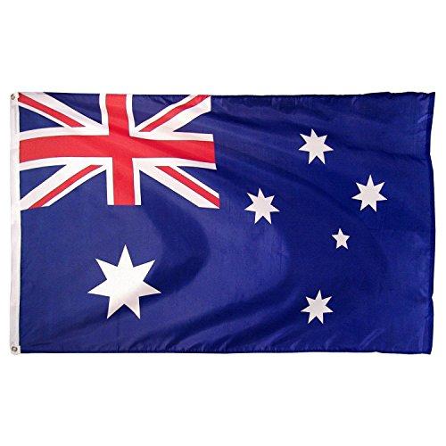 Aussie Australien Australian Flag Super Poly 2x 32Ft X 3ft Flagge Banner - Poly Flag Banner