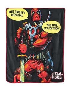Official Deadpool Tacos Throw Blanket