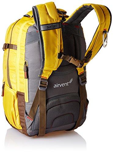 Safari 42 Ltrs Yellow Laptop Backpack (Atlas Yellow) Image 2