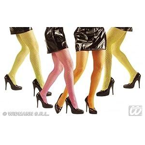 widmann-wdm4759°F disfraz Adulto mujer, Rosa Amarillo Naranja Verde, wdm4759°F