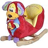 Knorrtoys 40327 - Perro balancín con sonido (incluye marioneta de ...