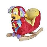 Knorrtoys 40327 - Perro balancín con sonido (incluye marioneta de mano)