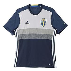 adidas Herren UEFA EURO 2016 Schweden Auswärtstrikot Replica