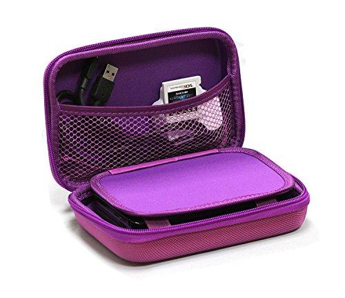 Navitech couverture violet foncé / cas / cas de voyage pour Poweradd Pilot 2GS 10,000mAh Dual-Port Portable Charger External Battery Power Bank
