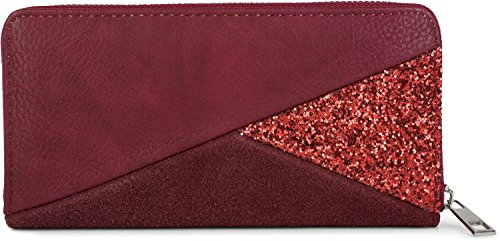 Portefeuille femme rouge