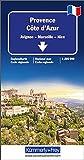 Provence-Côte d'Azur: Avignon-Marseille-Nice (Kümmerly+Frey Reisekarten) -