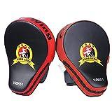 #5: JERN 1 Pair Target MMA Boxing Mitt Focus Punch Pad Training Glove Karate Muay Thai Kick