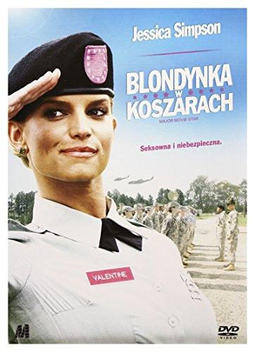 Blondynka w koszarach / Major Movie Star [DVD] [PL Import]