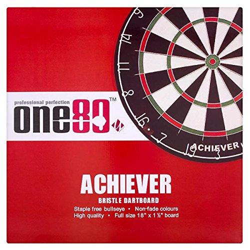 U Group Ltd Professionelle Perfektion One80 Achiever Bristle Dartboard