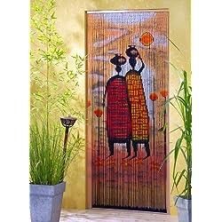 "'bambú Puerta cortina de bambú Cortina ""Mombasa aprox. 115x 220cm"