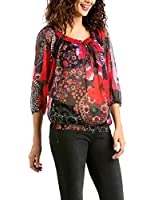 Desigual Damen Regular Fit Bluse BLUS_MIMI