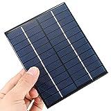 Panel Solar 6 V 2 W 136 * 110 * 3 mm caga baterías 3.7V modulo 6V 2W Panel ARDUINO DIY CELULA FOTOVOLTAICA
