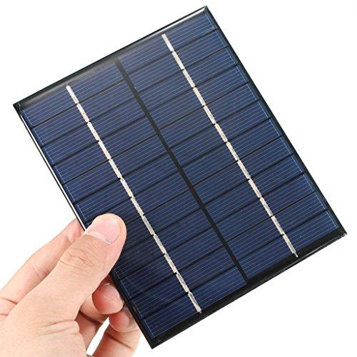 Solarpanel 6V 2W 136* 110* 3mm Caga Akkus 3.7V Modulo 6V 2W Panel Arduino DIY celula Photovoltaik