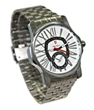 Svviss Bells Stylish White Dial Stainless Steel Watch