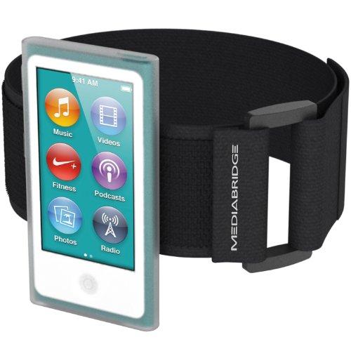 Mediabridge AB1-IPN7-CLEAR Armband für iPod Nano (7. Generation), Transparent (Apple Ipod Nano 7 Generation)
