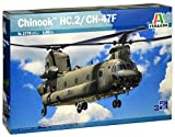 Italeri 2779 Chinook HC.2/CH-47F Model Kit elicottero plastica Scala 1:48