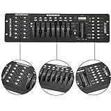 U`king 192 Kanäle DMX512 Controller Konsole Voice-aktiviert für Lichteffekt Bühnenlicht Party DJ Disco Betreiber Equipment