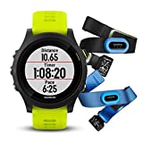 Garmin Forerunner 935 Bluetooth Black sport watch - Sport Watches (Black, Polymer, Water resistant,...