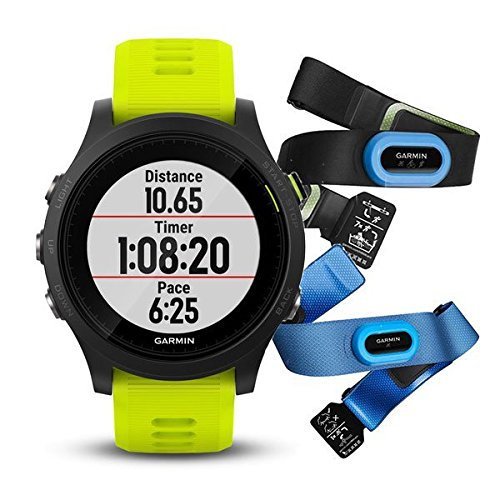 "Garmin GPS-Multifunktionsuhr ""Forerunner 935 Triathlon-Bundle\"" schwarz (200) 000"
