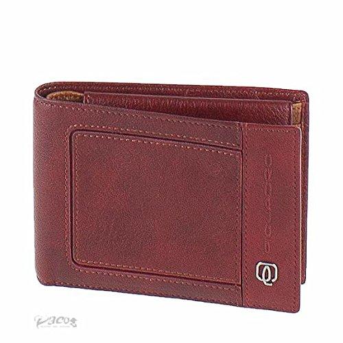 Portafoglio Uomo Piquadro | Portamonete | Linea Vibe | PU257VI-rosso/arancio