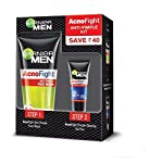 Garnier Acno Fight Anti-Pimple Kit, 60 g (Pack of 2) with Acno Fight Facewash, 50gm + Acno Fight Clearing Gel,10ml