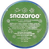 Snazaroo - Pintura facial y corporal, 18 ml, color verde hierba