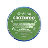 Snazaroo Face and Body Paint 18milliletre Grass Green Individual Colour