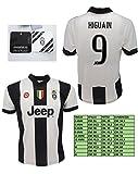 Maglia Juventus Gonzalo Higuain 9 Replica Ufficiale 2016-2017 Tutte le Taglie (M)