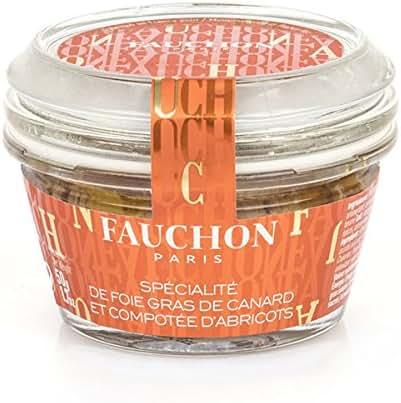 Fauchon - Spécialité de foie gras de canard et compotée d'abricots
