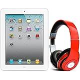 Pack iPad 2 16Go Wifi 3G Blanc avec casque Bluetooth Rouge