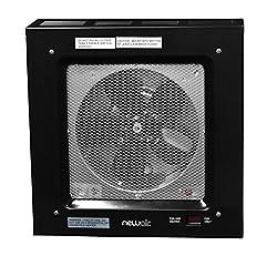 NewAir G80 Electric Garage Heater, 5000-watt, Black
