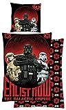 Disney Biber Bettwäsche Rogue One: Star Wars 135x200cm Stormtrooper Baumwolle