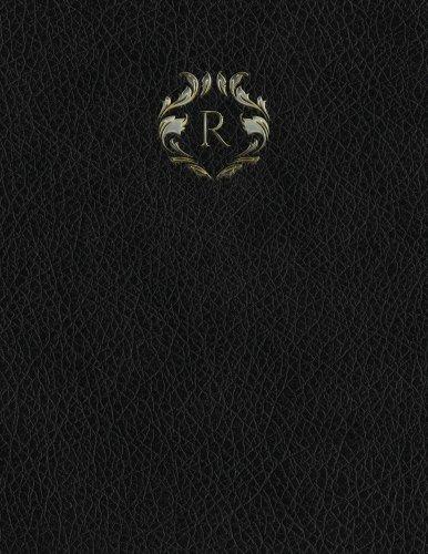 Monogram R Grid Sketchbook: Volume 18 (Monogram Black 150 Grid-Sketch)